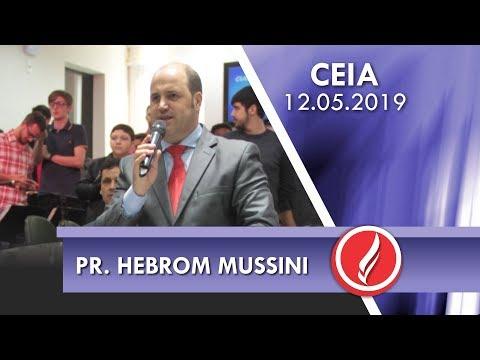 Pr. Hebrom Mussini | Um Jesus que se relaciona com as pessoas | Jo 1.1-18 | 12 05 2019