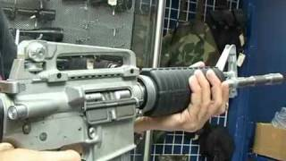 getlinkyoutube.com-Prototype M4 Gas Blowback Airsoft Rifle