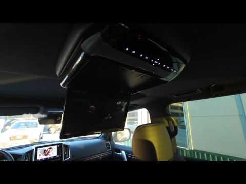 Потолочный монитор с DVD в Toyota LC200 NEW