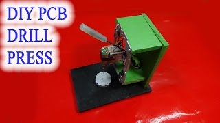 getlinkyoutube.com-Homemade mini DIY PCB drill press table from rails CD drives