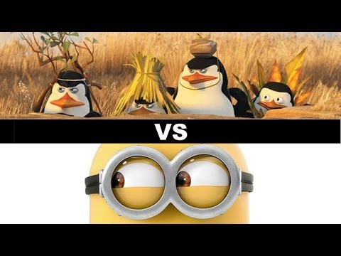 Penguins of Madagascar vs Minions Movie 2015 - Beyond The Tr