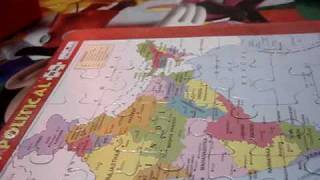 Ranesh reading the Indian Map & Capitals...