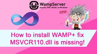 getlinkyoutube.com-How to install WAMP + fix for Error MSVCR110.dll is missing problem