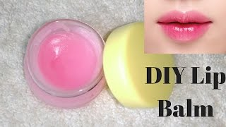 getlinkyoutube.com-How To Make Lip Balm At Home | For Pink & Moisturized Lips | Easy And Simple DIY