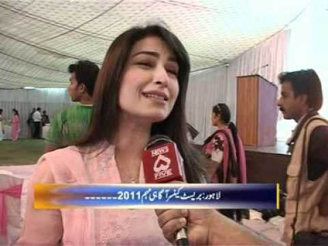 Reema Khan In Showket Khanum Live Reporting By Shahid Ch. Editing Zeeshan Mughal News 5 Pakistan