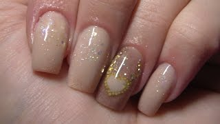 Nude Acrylic Nails | Infill | New Design