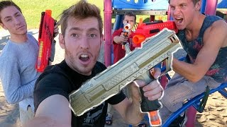 getlinkyoutube.com-CUSTOM NERF GUNS!