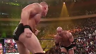 Goldberg vs. Brock Lesnar: WrestleMania XX width=