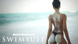 getlinkyoutube.com-Chanel Iman Bares All & Poses With A Python In Zanzibar | Intimates | Sports Illustrated Swimsuit