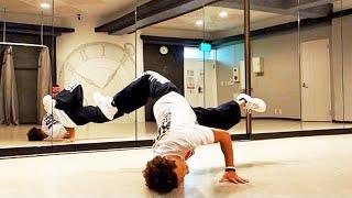 getlinkyoutube.com-やってみよう! ブレイクダンスの基礎〝チェアー〟は、初心者がはじめに覚える技