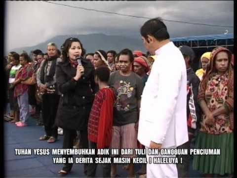 mujizat tuli mendengar dan gangguan penciuman - Wamena, Papua - Indonesia (Rev. Yosafat, MBA)