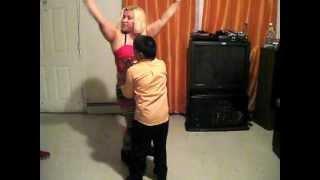 getlinkyoutube.com-Dominican Republic mom dancing with her son in Newark, New Jersey