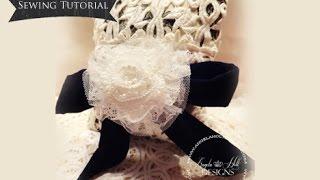 getlinkyoutube.com-Handmade Pillow Sewing Tutorial / Tresors De Luxe DT Project