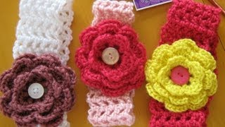 getlinkyoutube.com-how to crochet a hairband or headband (all sizes)