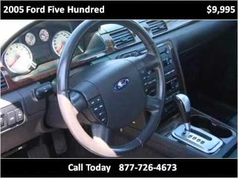 Hqdefault on 2005 Ford Five Hundred Sel Problems