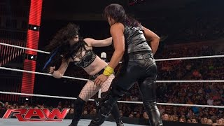 Paige vs. Tamina: Raw, May 25, 2015