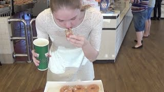 Eating a Dozen Donuts in 96 Seconds!