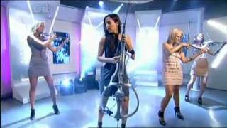 Escala perform 'Children' on This Morning - 18/9/09