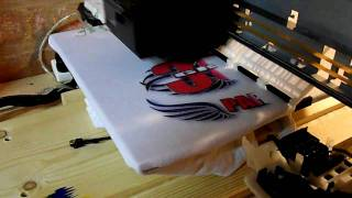 getlinkyoutube.com-Home made T-shirt printer.