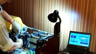 getlinkyoutube.com-Отливка насадки для труб на самодельном ТПА термопласт автомате