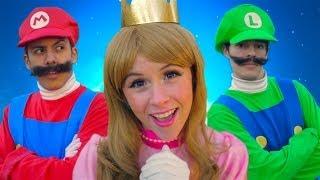 getlinkyoutube.com-Super Mario 3D World - THE MUSICAL feat. Princess Peach