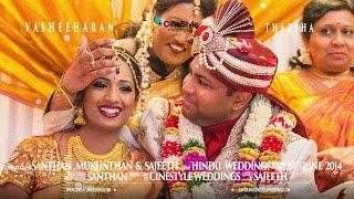 getlinkyoutube.com-Vasheeharan & Tharsha TAMIL HINDU WEDDING