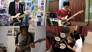 getlinkyoutube.com-Shokugeki no Soma OP - Kibou no Uta 【Band Cover】by【Scarlette】