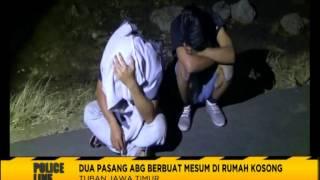 getlinkyoutube.com-Dua Pasang ABG Digrebek Warga Saat Mencoba Mesum - Police Line 27/07