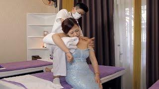Shoulder Neck massage pain relief   Asian Relaxion Massage