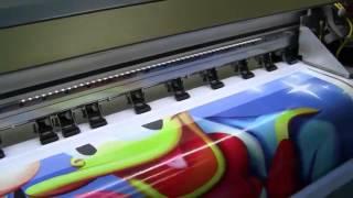 getlinkyoutube.com-Konica K1024 UltraColor Flex printing machine