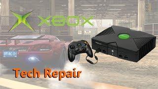 getlinkyoutube.com-Tech Repair: Original Xbox - Overheating, Clock Cap Removal, DVD Drive Refurb