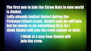 4 New Straw Hats ? One Piece Theory