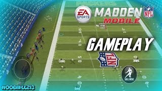getlinkyoutube.com-HIGHEST SCORING GAME 100 POINTS?!?! Madden Mobile 17 Gameplay
