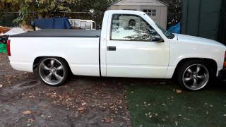 Bagged 1996 Chevy 1500