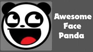 Awesome face Panda Emblem Tutorial
