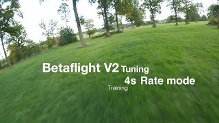 BorisB Betaflight V2 Tuning - Rate mode - Cobra 2204 - Naze 32