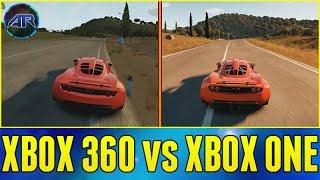 getlinkyoutube.com-Forza Horizon 2 - Xbox 360 vs Xbox One (Map, Graphics, Car List Comparison)