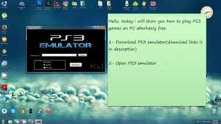 getlinkyoutube.com-How to play PS3 Game on PC - PS3 Emulator - Free download