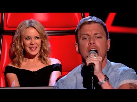 Lee Glasson performs 'Can't Get You Out Of My Head' - The Voice UK 2014: Blind Auditions 1 - BBC One
