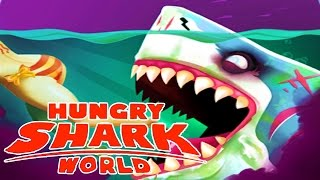 getlinkyoutube.com-NEW ZOMBIE MEGALODON SHARK! Hungry Shark World Biggest Shark Update! EPIC NEW SHARK ABILITY!
