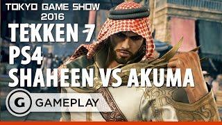 getlinkyoutube.com-Tekken 7 Shaheen V Akuma - PS4 Gameplay