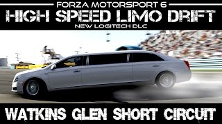 getlinkyoutube.com-Forza Motorsport 6 - RWD High Speed Limo Drift  - #LogitechGForza6