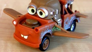 getlinkyoutube.com-Cars 2 Aviator Mater Hallmark Christmas Ornament Disney Cars Toon Air Mater toy review Blucollection