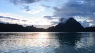 getlinkyoutube.com-Bora Bora, French Polynesia - Sunrise at the Bora Bora Pearl Beach Resort and Spa HD (2017)