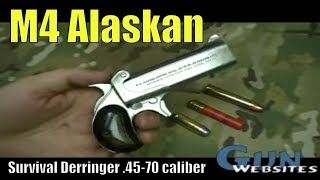 getlinkyoutube.com-M4 Alaskan Survival .45-70 Derringer