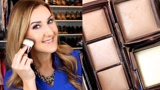 getlinkyoutube.com-Hourglass Ambient Lighting Powder Demo & Review: HIGHLIGHT/GLOWING SKIN
