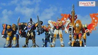 getlinkyoutube.com-All DX Gattai Mahou Sentai Magiranger 2005! DX 魔法戦隊マジレンジャー! Power Rangers Mystic Force!