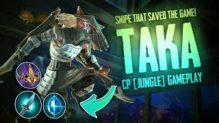 getlinkyoutube.com-Vainglory Gameplay - Episode 278: SNIPE THAT WON THE GAME!! Taka |CP| Jungle Gameplay [Update 2.0]