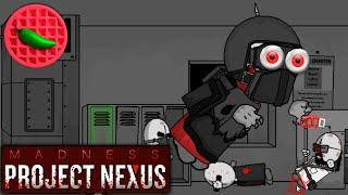 getlinkyoutube.com-INTO THE TOWER OF MADNESS! – Let's Play Madness: Project Nexus (Violent Web Game)