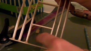 getlinkyoutube.com-[1/6] How To Build a Popsicle Stick House - Framing Walls